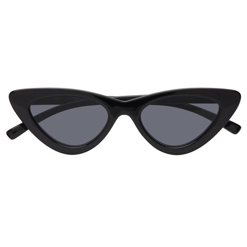 e12b70aeaa Black Lolita Tiny Retro Vintage Cat Eye Flat Lenses Sunglasses 400 ...
